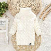 Wholesale boys pullover sweaters resale online - Toddler Girls Sweaters Winter Warm Kids Boys Sweaters Knit Pullover Baby Girl Sweater Outerwear Clothing cm