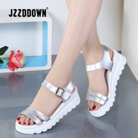 White Flat Sandals Women Australia | New Featured White Flat