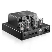 integrierter verstärker großhandel-Nobsound MS-10DMKII MP3 HiFi 2.0 Heim-Audio Bluetooth-Vakuumröhre Integrierter Verstärkereingang USB / AUX-Leistungsverstärker 6P1 * 2 + 6N1 * 2