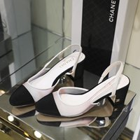 ingrosso marchio francese di pizzo-I nuovi sandali delle donne di estate di marca francese merlettano le scarpe casuali delle signore di modo che spedicono 35-40 alti talloni 5.5cm di formato