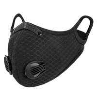 Dust Breathing Mask Activated Carbon Dustproof Mask with 1pcs Extra Carbon N99 Filter for Bicycle Hiking Outsports