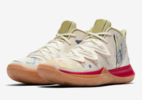Wholesale basketball shoes sale free shipping for sale - Group buy Hot Kyrie orions belt shoes for sale With Box new Irving Basketball shoes shop size40