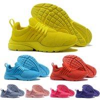 лучшие кроссовки бег трусцой оптовых-Лучший PRESTO 5 BR QS Мужчины Женщины кроссовки Oreo желтый фиолетовый Бальк розовый кроссовки дизайнер кроссовки 36-46