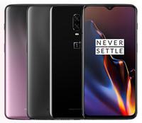 ingrosso oneplus phone-Cellulare originale Oneplus 6T Global Firmware Sbloccato Snapdragon 845 Octa Core da 128 GB / 256 GB Telecamera posteriore doppia da 20,1
