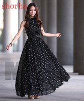 Wholesale dots maternity clothes resale online - Chiffon Maternity Dresses Long Bohemian Party Evening Clothes For Pregnant Pregnancy Photography Props Photo Shoot Dress New Dot