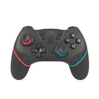 interruptor de control inalámbrico al por mayor-Nuevo controlador inalámbrico de Bluetooth Gamepad Game Joystick para Switch Pro Host con mango de 6 ejes Uso para la consola Switch