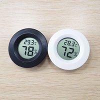 hygromètre de température achat en gros de-Mini LCD thermomètre numérique hygromètre Réfrigérateur Congélateur Testeur Température hygromètre Détecteur Thermograph JXW282