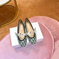 ingrosso marchio di scarpe da ballo-la moda più recente scarpe piatte di marca tela scarpe da pescatore scarpe casual in pelle nuovo balletto sexy delle signore