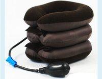 воздушная подушка для автомобиля оптовых-U-образная массажная подушка для путешествий Самолет надувные подушки для шеи Подушка для головы для шеи на воздушной подушке для сна Домашний текстиль