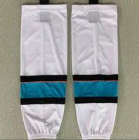 Wholesale ice train for sale - Group buy 2020 Ice hockey socks training socks polyester practice socks hockey equipment men youth kids white
