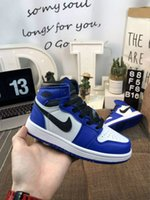 Wholesale baby boy clip resale online - Lair JORDAN Signed OG s Youth Kids Basketball Shoes Chicago New retro Born Baby Infant Toddler Trainers Small Boys Girls Sneaker fsef