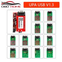 programador para eeprom al por mayor-Herramienta de diagnóstico del coche UPA USB Programador en serie Juego completo UPA-USB V1.3 Popular Eeprom Universal Chip Programmer auto ECU Tool