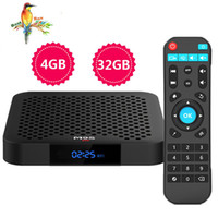 corriente pc tv wifi al por mayor-1 PCS M9S J2 4GB 32GB CAJA DE TV Android 8.1 RK3328 Quad Core Rockchip Inteligente IPTV BOX 4K H.265 2.4G WIFI Reproductor de medios de transmisión mejorado Mejor X96 MAX