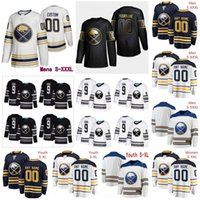 Wholesale Customized Buffalo Sabres NEW White Golden Jersey Custom Any Number Name men women youth kid Navy Blue Black Eichel Dahlin Skinner XL