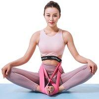 colhedores para homens venda por atacado-Elasticidade estiramento Suprimentos Lajin Lanyard Yoga Tension Homens Banda E Mulheres Meditação De Pernas Cruzadas