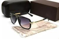 gafas de sol de ojo de gato de marca al por mayor-2019 gafas de sol de marca para mujer gafas de sol para exterior UV400 cat-eye fashion con lentes antirreflectantes