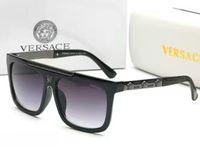 diseñador sunglasse al por mayor-Gafas de sol retro vintage hombre gafas de sol diseñador sunglasse marco dorado brillante mujeres gafas de sol de calidad superior con caja