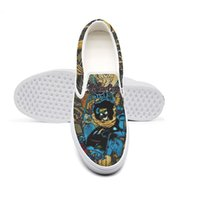 sapatas globais venda por atacado-Unisex Canvas Casual Motley Crue GLOBAL Feelgood Graveyard Vintage Low superior antiderrapante Shoes design bonito Pop Edição limitada UD Portão final