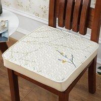 стул из сливы оптовых-Plum Blossom Theme Кресло Подушка Толщина 12см Зимняя Теплые подушки сиденье Pad Для Питания Компьютера Home Decor Стула подушек Mat