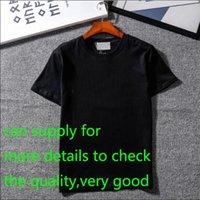 camisetas 2xl al por mayor-Nuevo diseñador Camisetas Ropa para hombre Marca Tops Camiseta Moda Verano Marea Braned Letters Impreso Lujo Hombres Camisa Ropa M-2XL