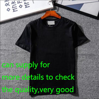 yeni giysiler toptan satış-Yeni Tasarımcı T Shirt Erkek Giyim Marka Üstleri Tee Gömlek Moda Yaz Gelgit Braned Mektuplar Baskılı Lüks Erkekler Gömlek Giyim M-2XL