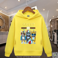 Wholesale animal hoodies for babies resale online - Kids Hoodies Baby Clothes Sweaters For New Catamite Girl Children s Garment Children Dresses Unlined Upper