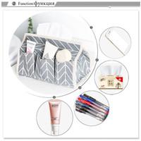 Wholesale green napkin holder online - Pockets Cotton Tissue Box Multifunctional Desktop Pumping Napkin Paper Holder Waterproof Paper Towle Case Storage Bag