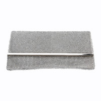Wholesale clutch bags for prom resale online - evening bag rhinestone Sparkly Purse Wallet Bag Wedding detachable chain Party Clutch Bag Storage Bags for Wedding Party Prom