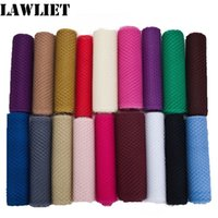 Wholesale veil diy online - 20yard quot cm Width Colors Birdcage Veil French Netting Wedding Millinery Hat Fascinator DIY Hair Accessories B003