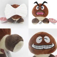 Wholesale men doll toys video for sale - Super mario monster Chestnut Doll small Exquisite Anime plush toy soft lovely men and women popular gift sy I1