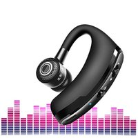 coche v9 al por mayor-V9 Inteligente Auricular Inalámbrico Control de Voz Bluetooth 4.1 Auriculares Estéreo para Vehículos Auriculares Magnéticos Voz Conducción de Automóviles Bluetooth