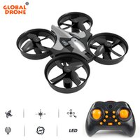 Wholesale micro gyro helicopter resale online - Global Drone Mini Drone Axis Gyro G CH Micro Drones RC Helicopter Headless Mode Pocket Quadcopter Dron