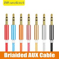 Wholesale cords for cell phones online – 1M Aux Cable Long For Car Video Earphone Cell phone mm Male to Male Stereo Audio Cord High Quality Aux Cable