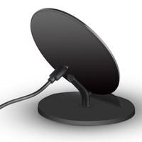 aufladung telefonständer großhandel-2-Spulenständer Laden des Telefons QI Schnelles Aufladen für drahtloses Ladegerät für Iphone / Samsung / HW Vertikales Laden des Ladegeräts Power10W