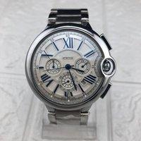водонепроницаемые часы оптовых-роскошные часы с тремя часовыми поясами, водонепроницаемые мужские часы Повседневные часы дизайн мастер-уровня высочайшее качество мужские военные часы Бизнес спортивные часы