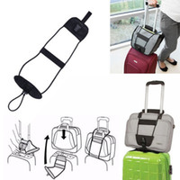 Wholesale luggage durable resale online - Black Oxford Difficult To Wear Cords Resilient Luggage Ropes Folding Firm Durable Waterproof Bungee Strap Outdoor Gadgets ZZA1084