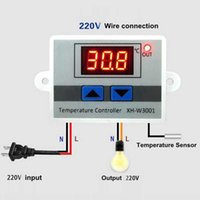 Wholesale digital temperature regulator controller thermostat resale online - 10A Digital Temperature Controller V Quality thermal regulator Thermocouple thermostat with LCD display
