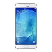 dual sim quad core 5.7 al por mayor-El teléfono móvil original Samsung Galaxy A8 A8000 doble sim Octa Core Rom 16 GB / 32 GB 16.0MP 5.7 pulgadas 4G LTE Reformado desbloqueado móvil