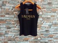 ingrosso maglia manica corta per gli uomini-2019 XXSSkulls T Shirt Balmain modo della maglia delle donne P-P Hot perforazione Uomo Abbigliamento T shirt da uomo Top manica corta
