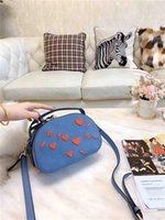 Wholesale heart shaped cross body bags resale online - Designer Shoulder Bag Women Luxury Designer Womens Shoulder Bags Handbags Purses Heart shaped Decoration New Girls In Autumn and Winter1Q