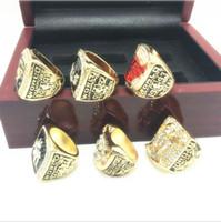 anel de 1998 venda por atacado-1991-1998 Liga de Basquete anel de campeão de Alta Qualidade Moda campeão Anéis Fãs Melhores Presentes Fabricantes frete Grátis