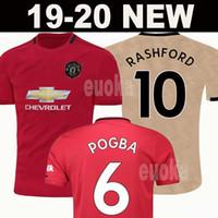 ca20ddcce8f Wholesale man utd for sale - Thailand FC POGBA soccer jersey LINGARD LUKAKU  RASHFORD football shirt