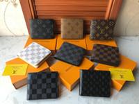 Wholesale novelty wallets coin purses resale online - Brand LouisVuitton1F Style Design Coin Pouch Men Women Lady Leather Coin Purse Key Wallet Mini Wallet Without Box LOUIS