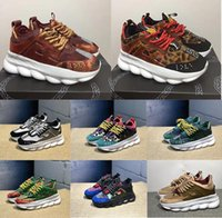 Wholesale womens canvas heeled shoes for sale - Group buy Chain Reaction bottom heels Sneakers Males Mens Luxury Designer Shoes Females Womens Sport Trainers Casual Fashion Shoes Sneakers with Dust