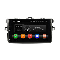 Wholesale android car dvd for toyota corolla resale online - Octa Core quot Android Car DVD Head unit for Toyota Corolla RDS Radio GPS WIFI Bluetooth GB RAM GB ROM