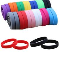energie energie silikon armband armbänder großhandel-Silikon Energy Power Armband Neuheit Mult Farbe Outdoor Wear Bangle Fashion Designer Armband Multi Size 2bl ZZ