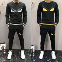 trendy ceketler erkekler toptan satış-Yüksek Kalite Erkek Tişörtü Eşofman Marka Giyim Erkek eşofman Ceketler Spor Trendy l tasarımcı lüks erkek takım elbise ter tasarlayabilirsiniz