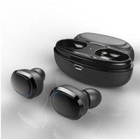 orijinal kaliteli mikrofonlar toptan satış-Kaliteli Orijinal T12 Çift TWS Gerçek Kablosuz Bluetooth Kulaklık Kulak Stereo Müzik Kulaklık Görünmez Kulaklık Eller serbest Mikrofon