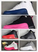 children s sports shoes size al por mayor-NIKE AIR JORDAN RETRO shoes 12 zapatos para niños, niños 12 s, zapatos de baloncesto, zapatos deportivos de alta calidad, niños y niñas, zapatillas de deporte para la venta, tamaño