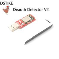беспроводной пульт дистанционного управления диммер переключатель оптовых-DSTIKE WiFi Детектор Deauth V2 (предварительно мигает) с чехлом ESP8266 ESP12E USB-светодиодный NodeMCU WiFi Deauther ESP8266 стартовый комплект